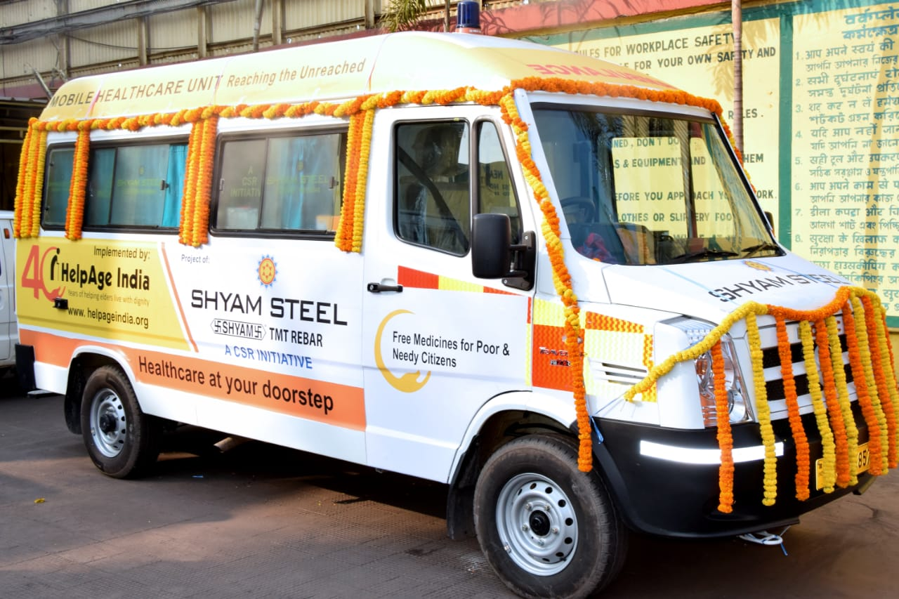 Corporate Social Responsibility | Shyam Steel Industries Ltd