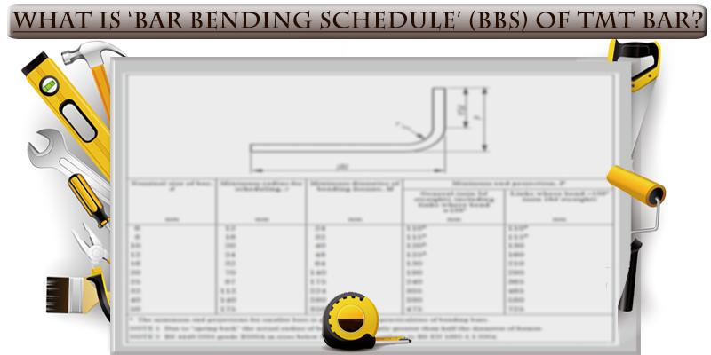 what-is-bar-bending-schedule